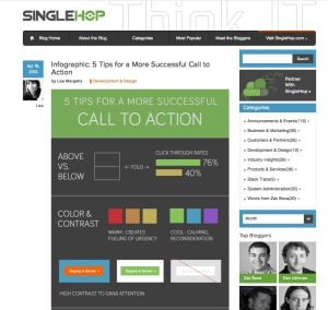 Website call-to-action tips